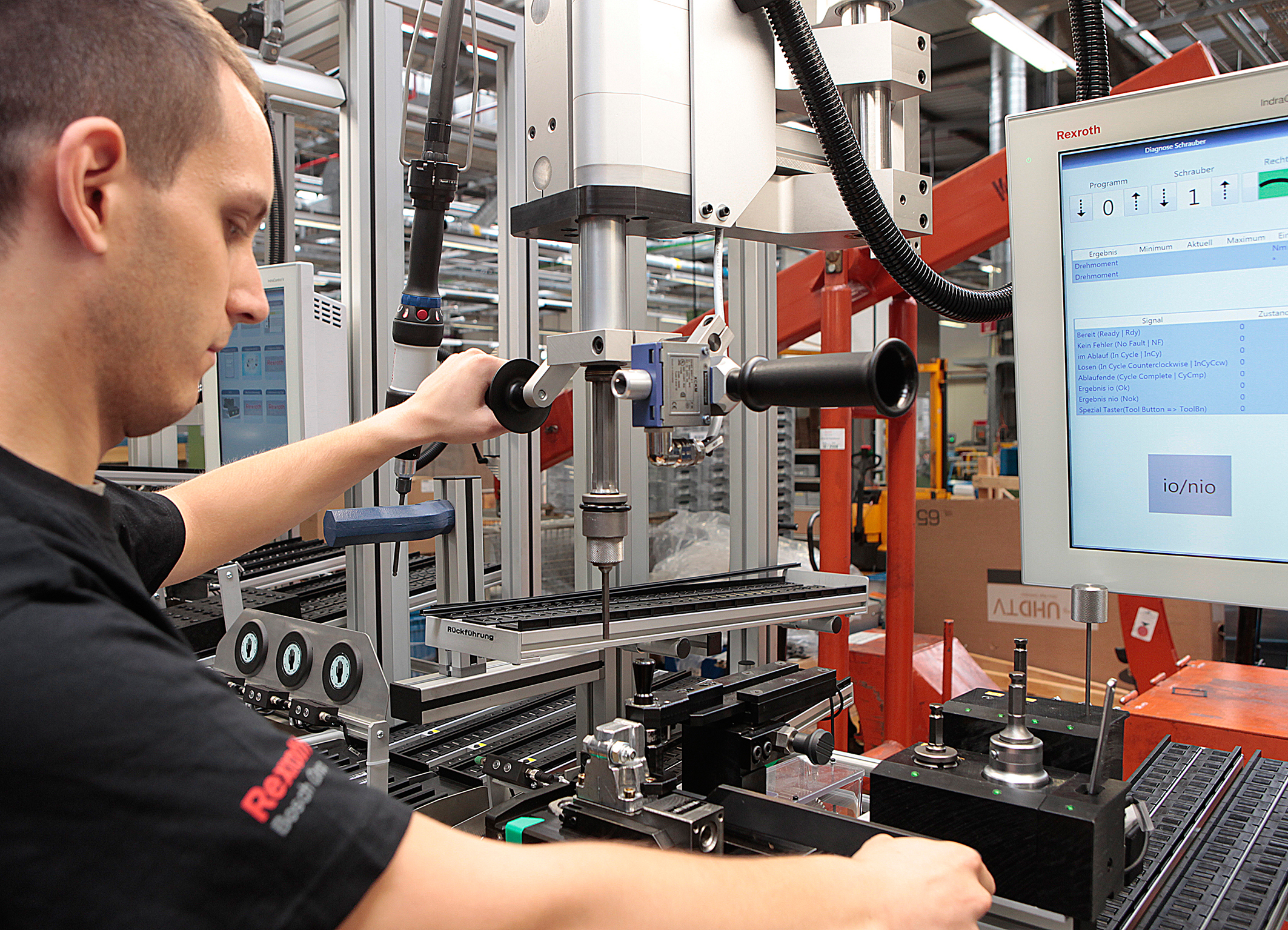 Multi-product line in Bosch's Homburg plant