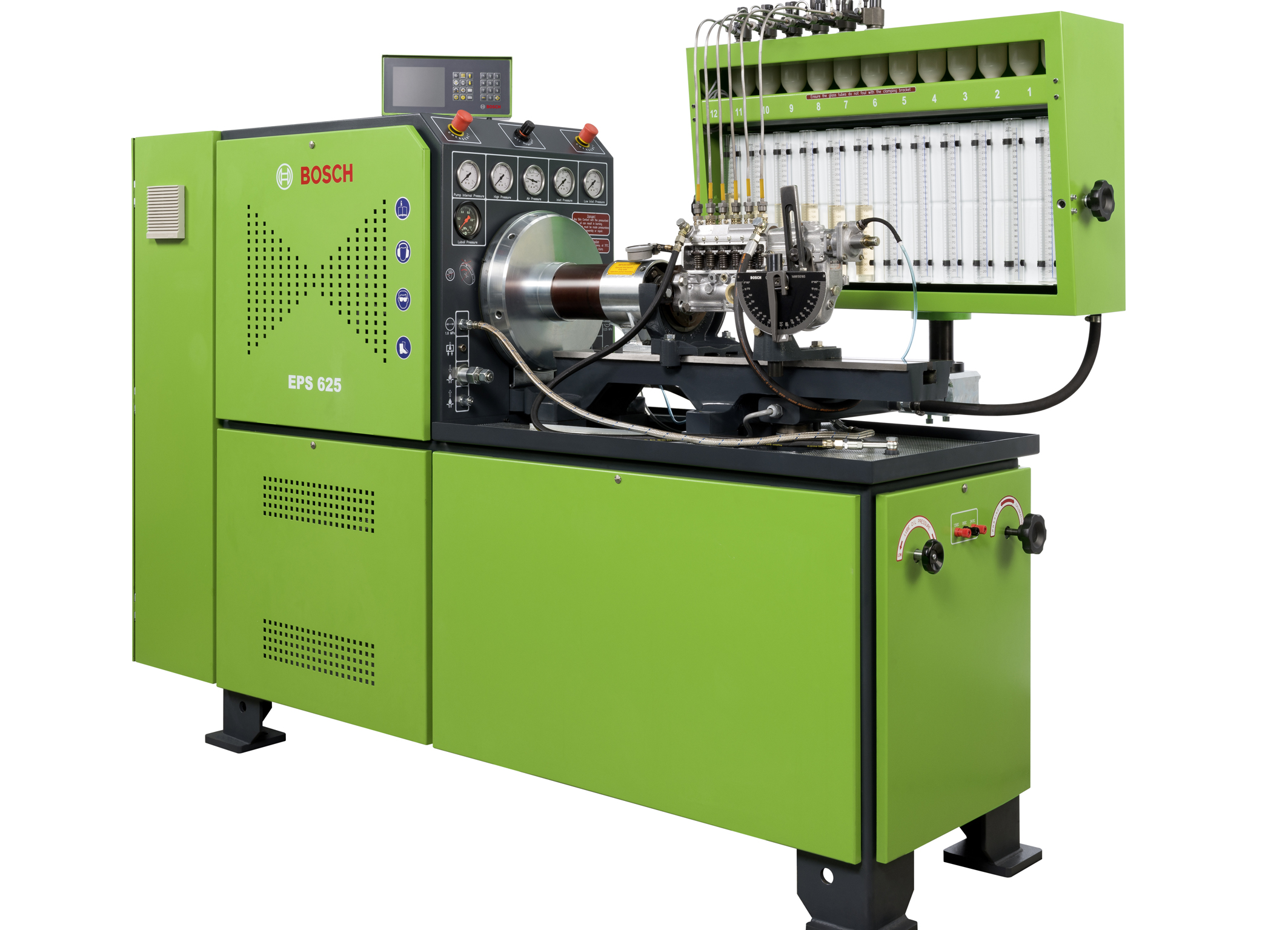 New EPS 625 Injection Pump Test Bench Adds to the Bosch Diesel