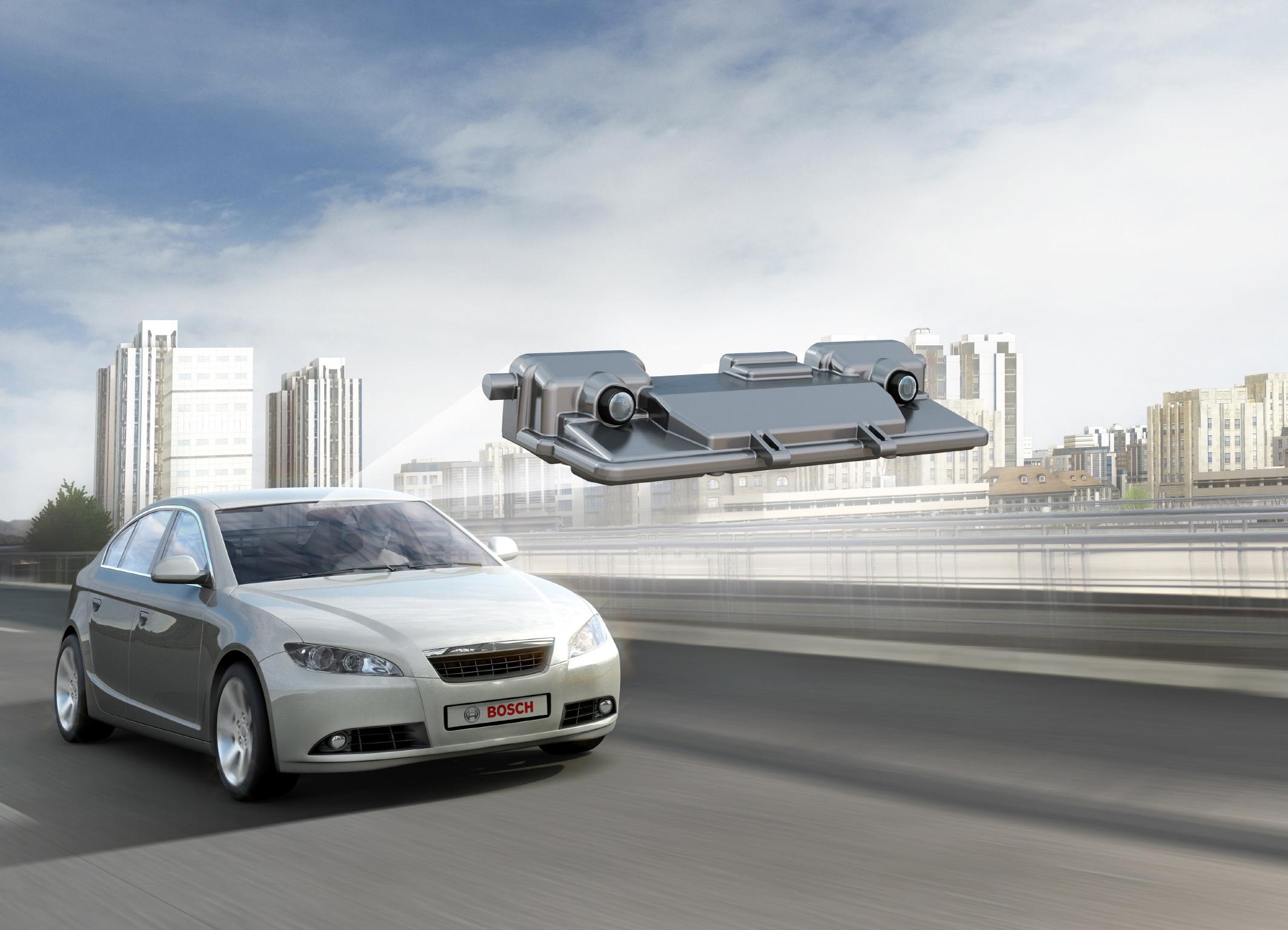 Stereo-Videosensor von Bosch für die Fahrerassistenz
