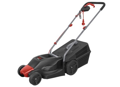 Compact, powerful and easy to store: the 0713 electric lawn mower from Skil