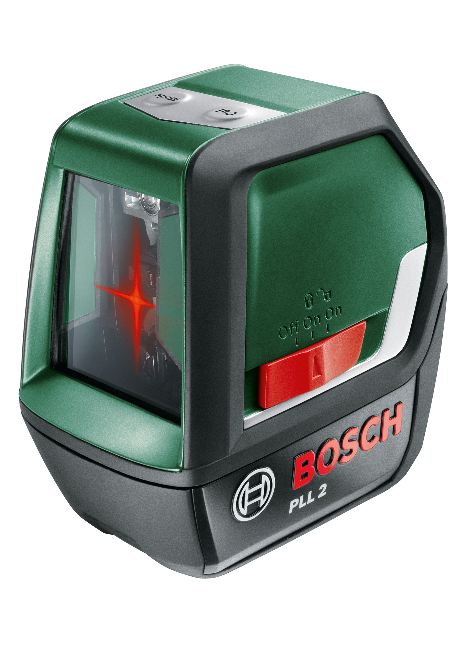 the pll 2 cross line laser from bosch - bosch media service