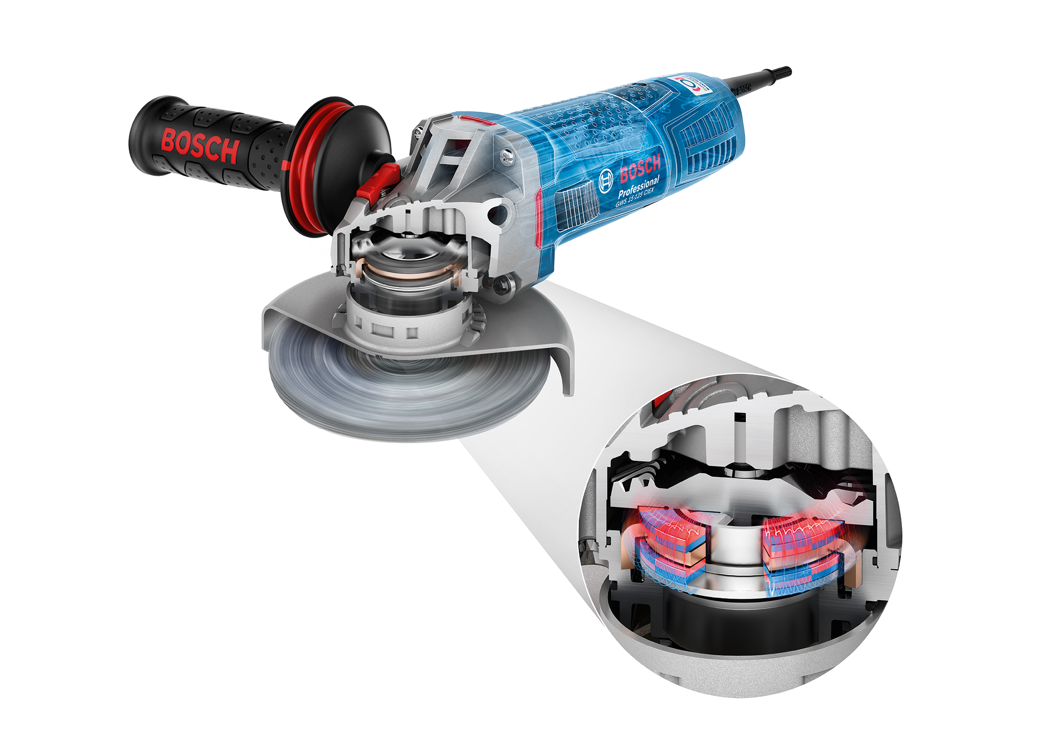 Bosch professional angle grinders with brake system - Bosch