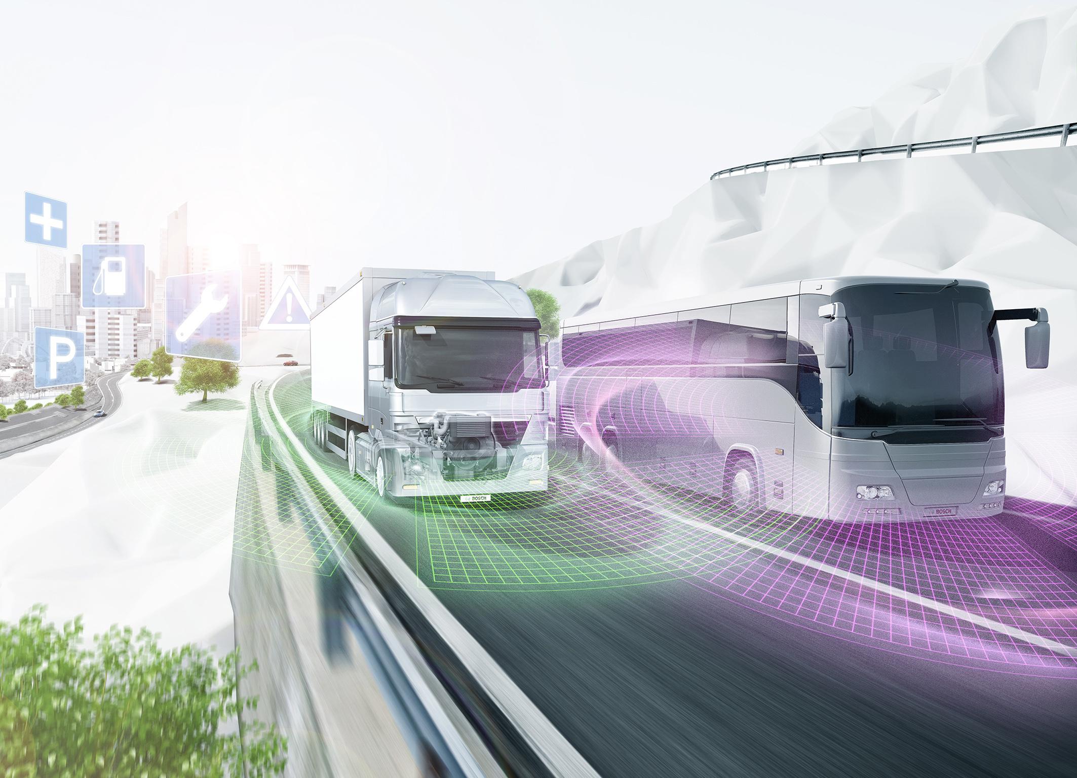 Nutzfahrzeugtechnik von Bosch