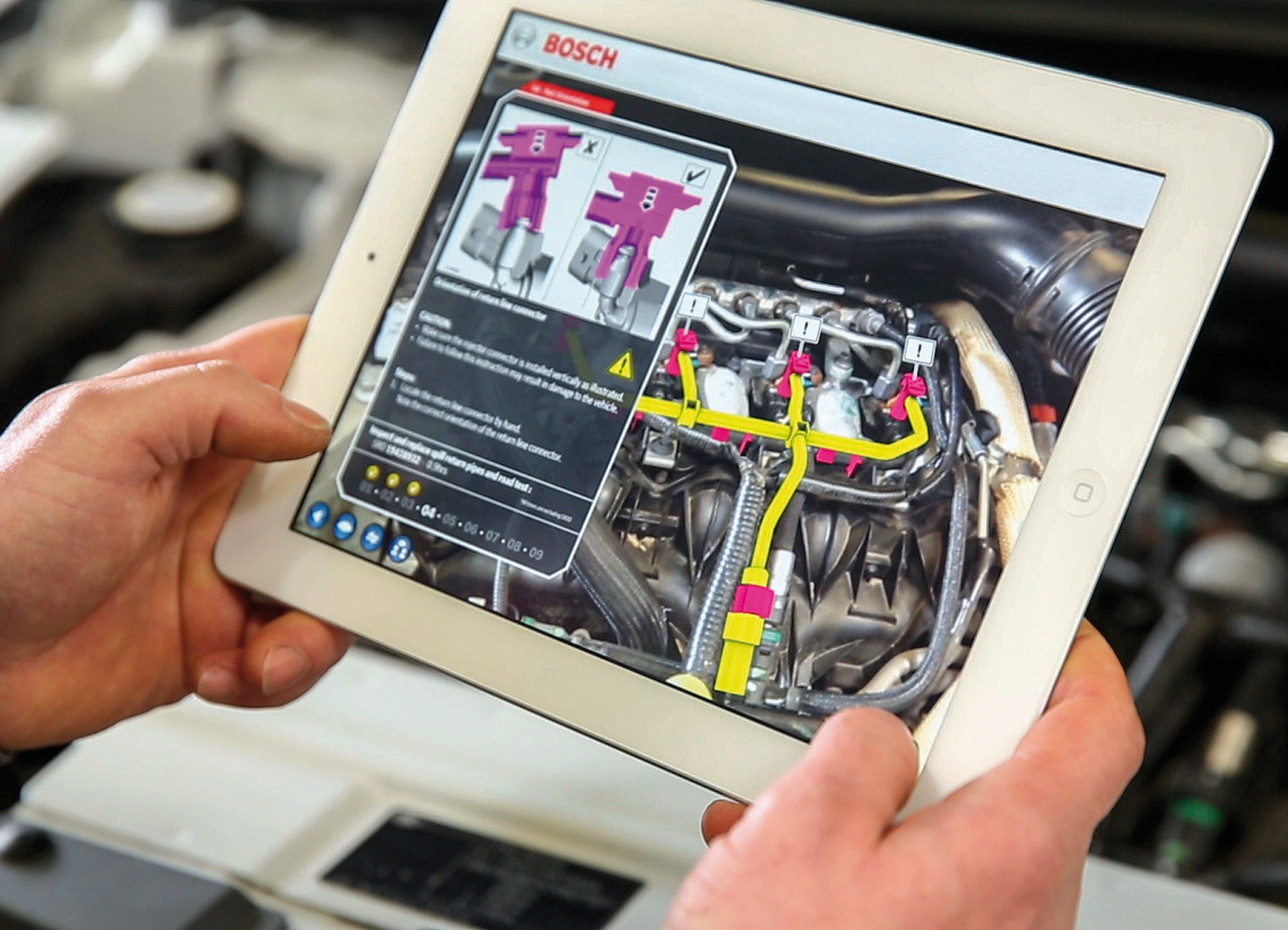 Diverse future Augmented Reality solutions for service, repair and training purposes