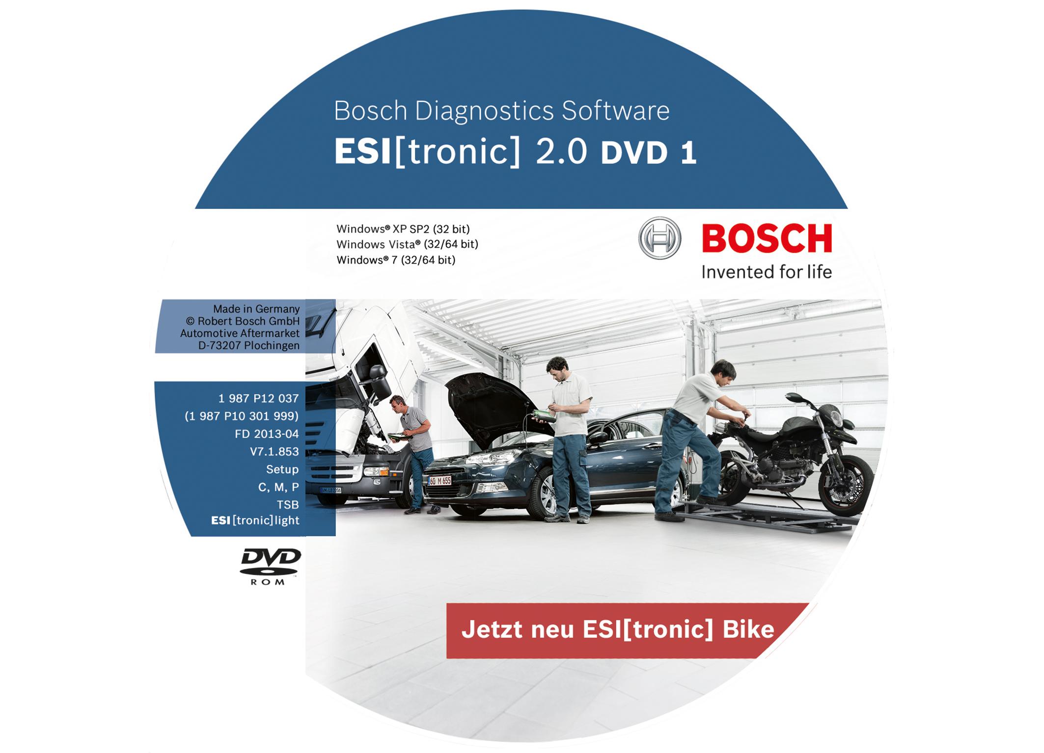 modern bosch test and diagnostic equipment for motor vehicle workshops bosch media service. Black Bedroom Furniture Sets. Home Design Ideas