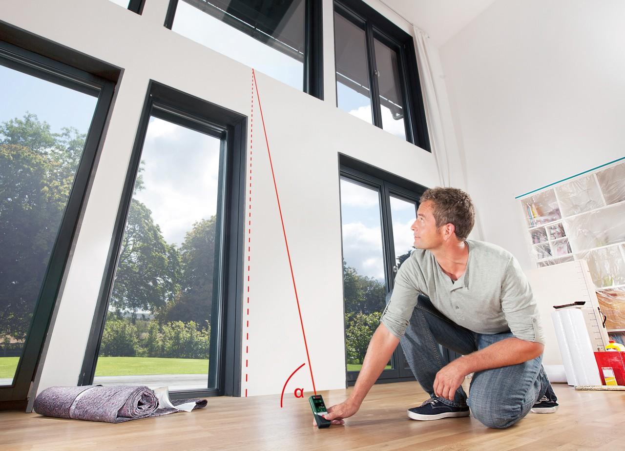 Laser Entfernungsmesser Für Heimwerker : Viele funktionen bei einfacher bedienung über das display: laser