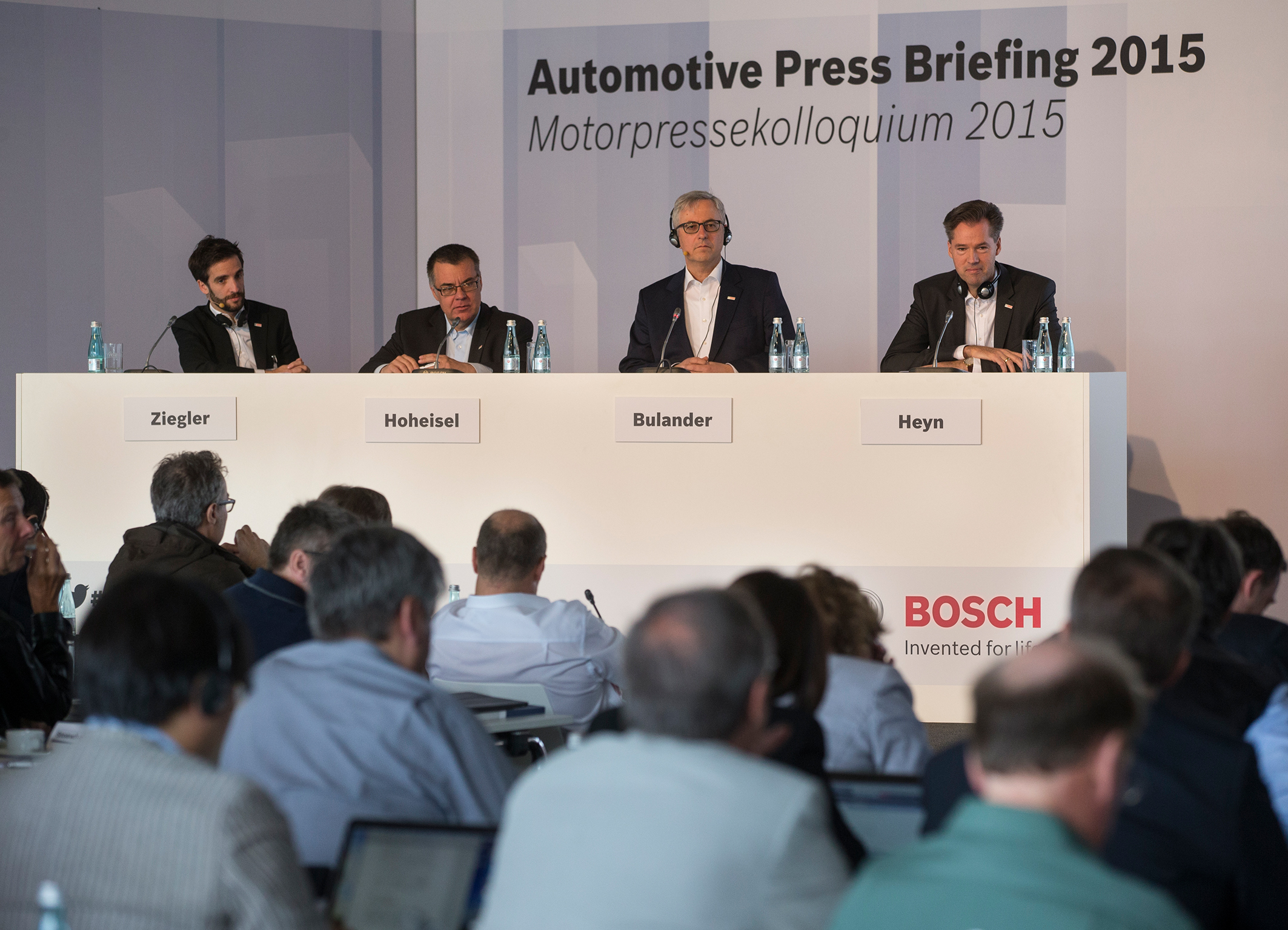 62<sup>nd</sup> International Automotive Press Briefing 2015