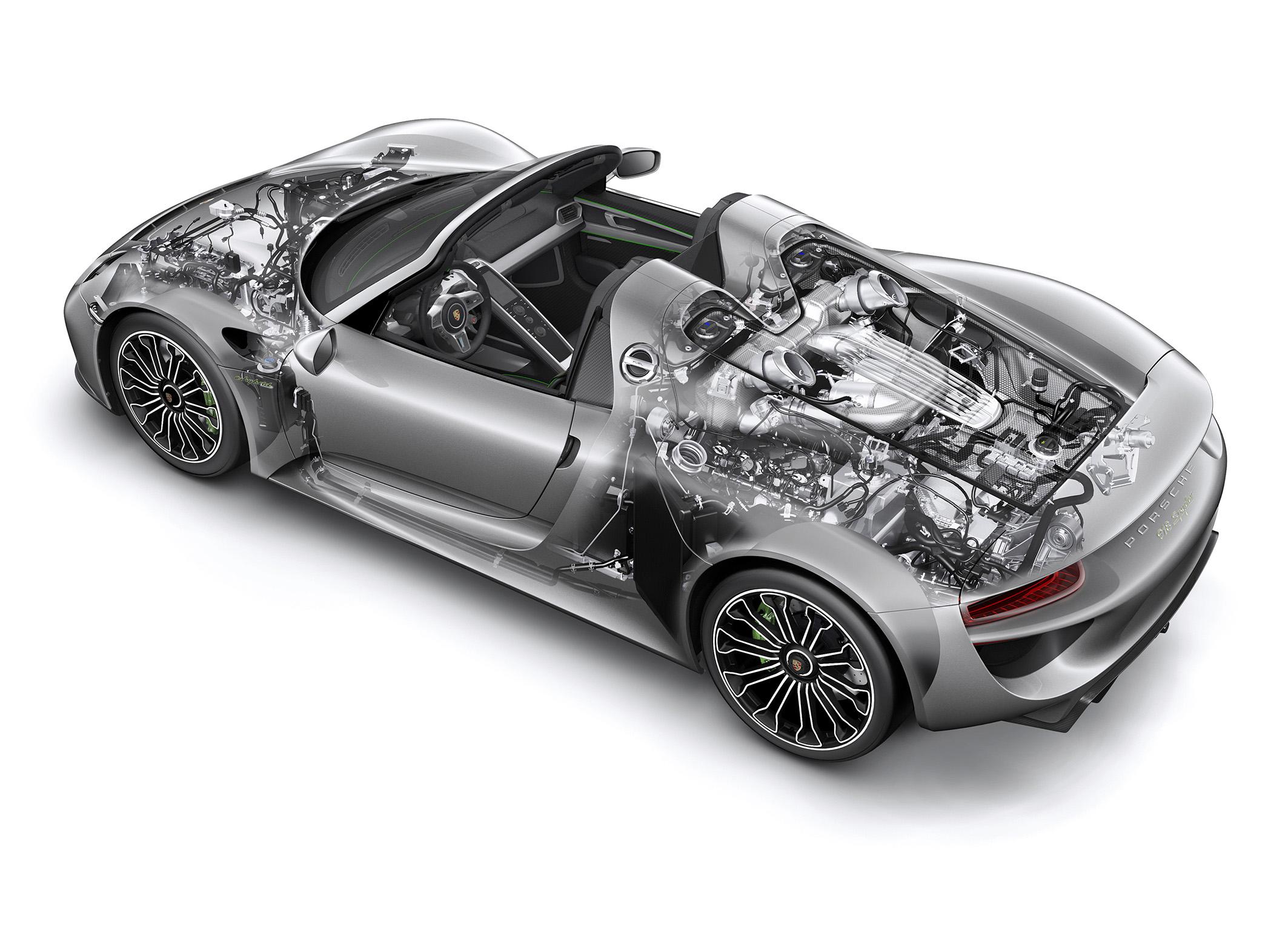 Porsche 918 Spyder: Phantom graphic