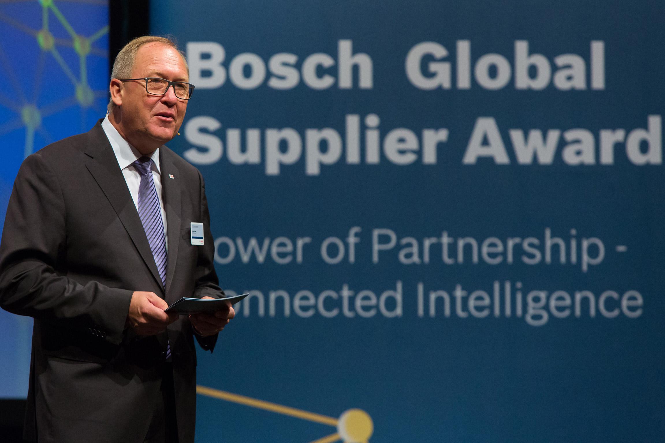 14. Bosch Global Supplier Award 2015