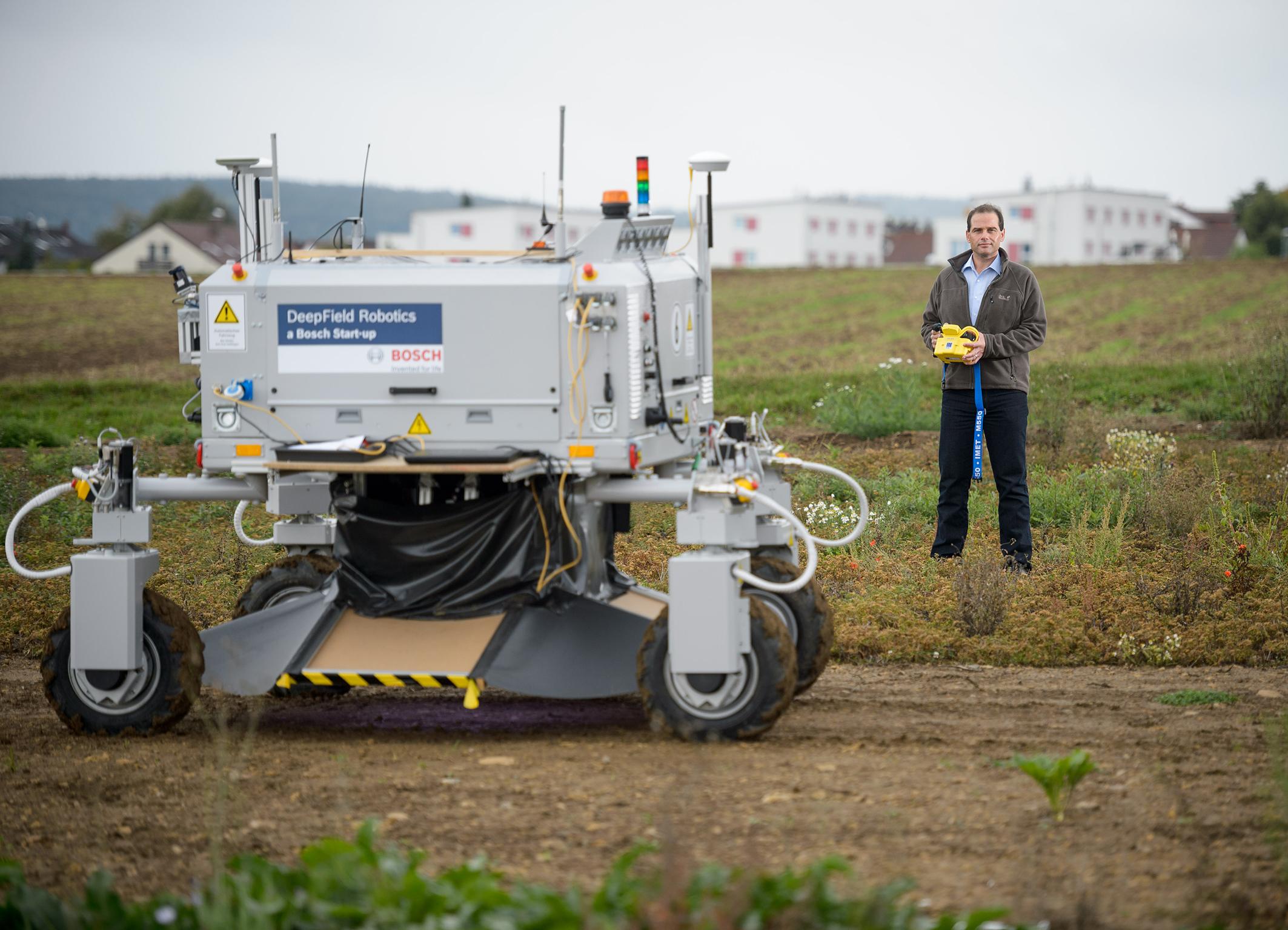 Infografik: Agrarrobotik bei Bosch – neuer Helfer in der Pflanzenzucht