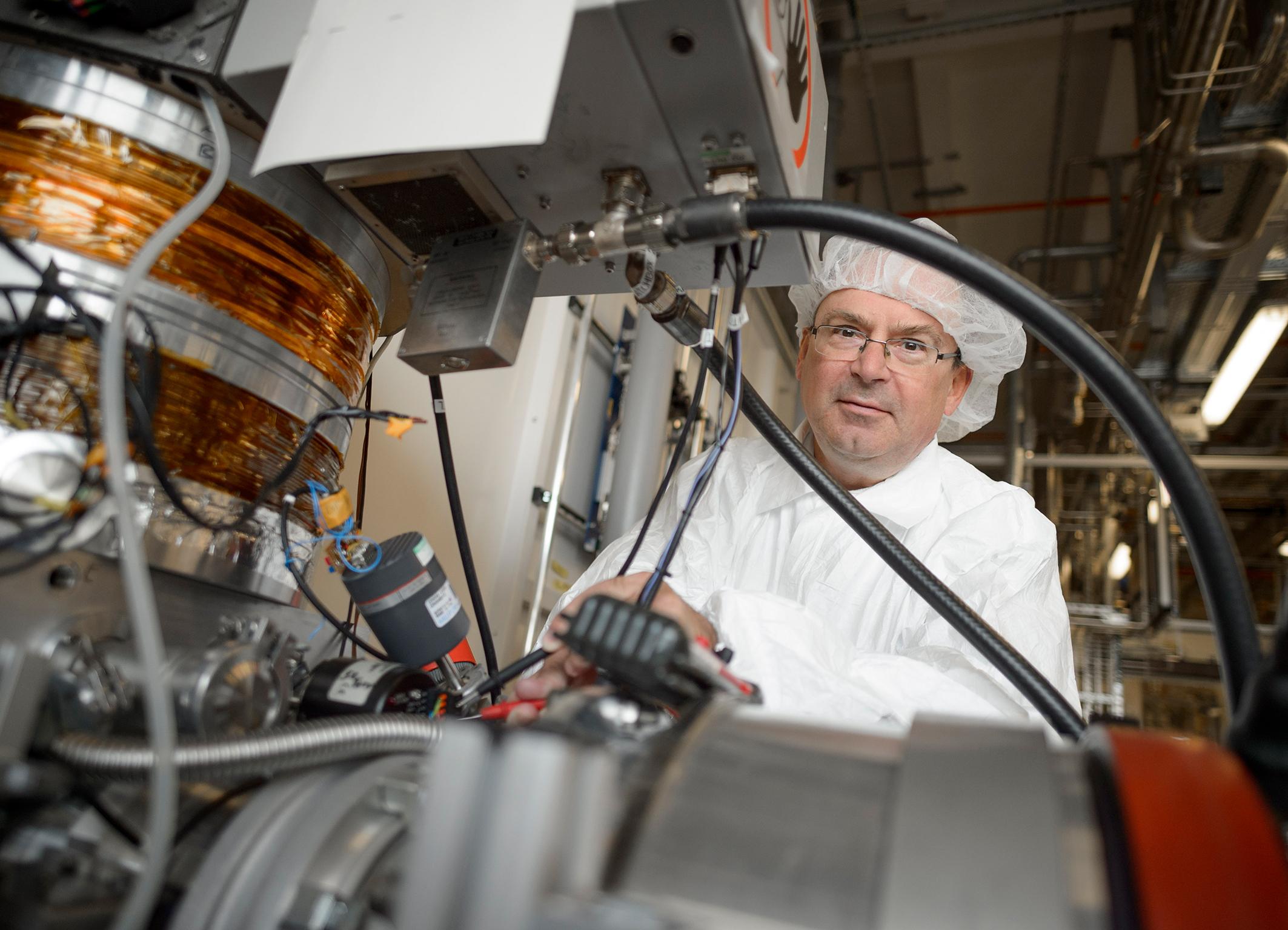 Bosch-Wissenschaftler Dr. Franz Lärmer