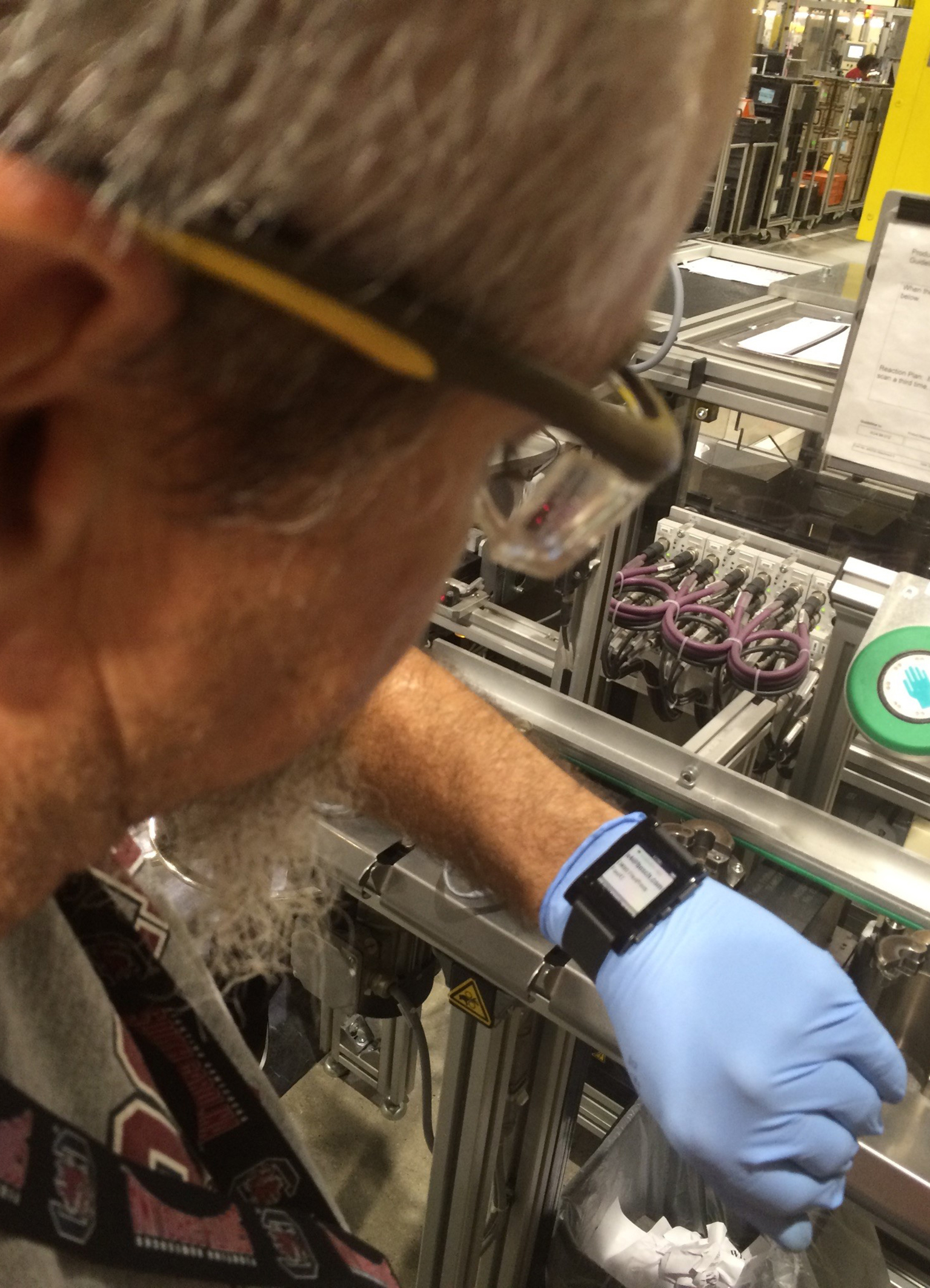 Bosch using smartwatches in production in the United States