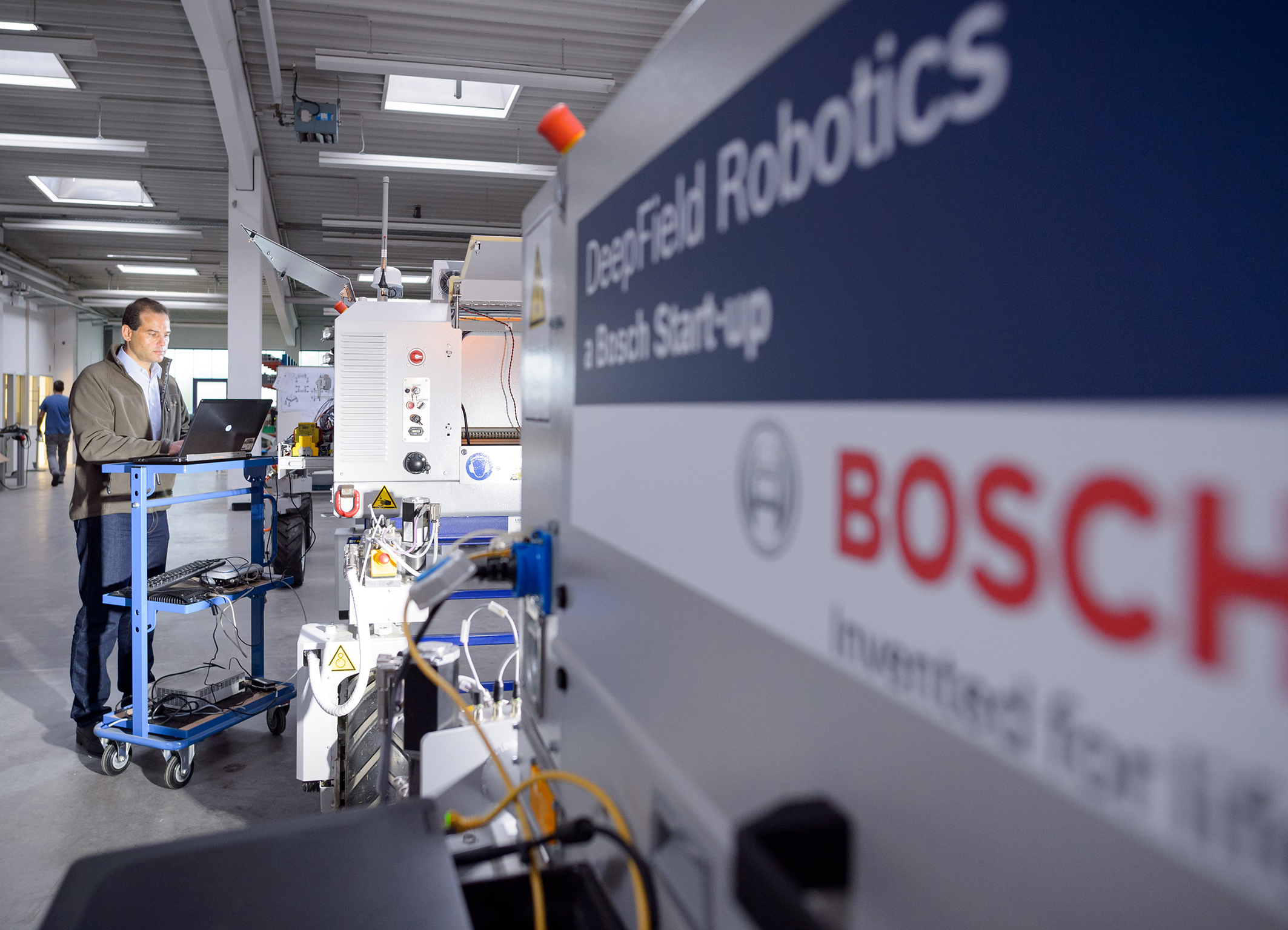 Info chart: Agricultural robotics at Bosch – new helpers for plant breeding