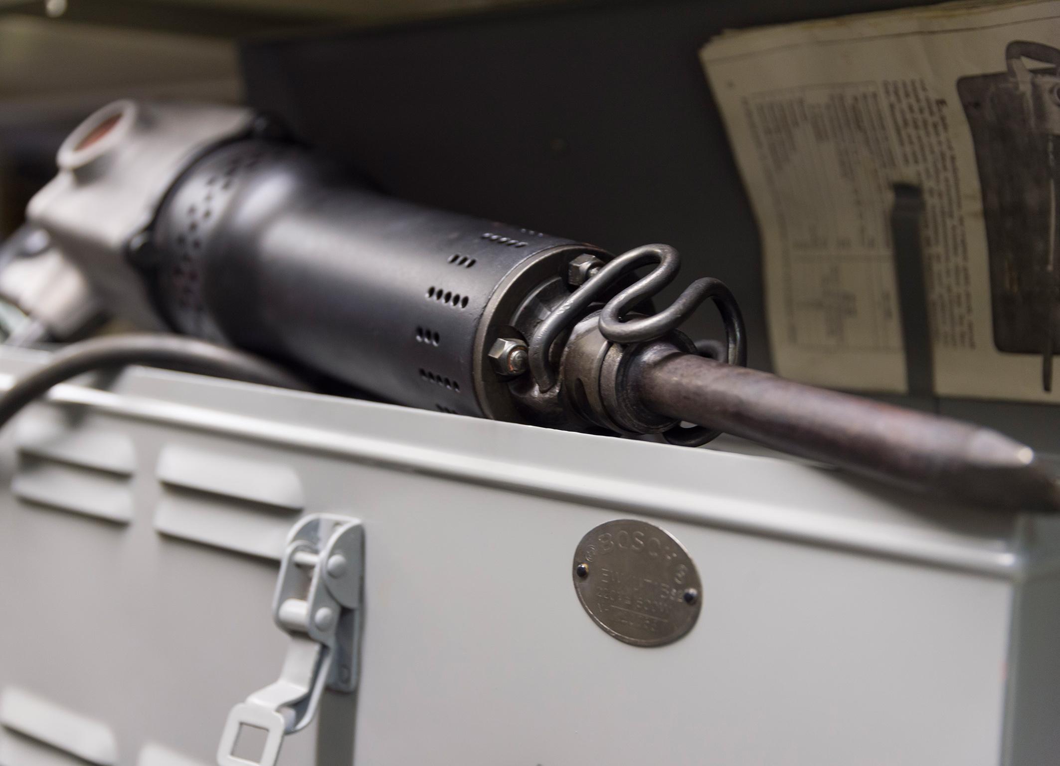 Hammer drill, 1932