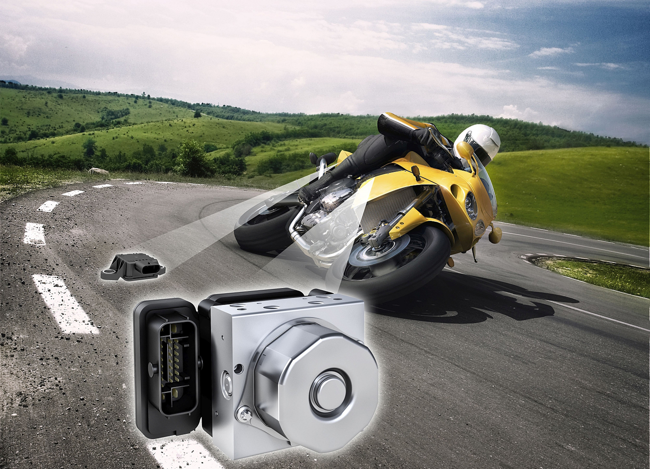 Bosch innovations for powered two-wheelers
