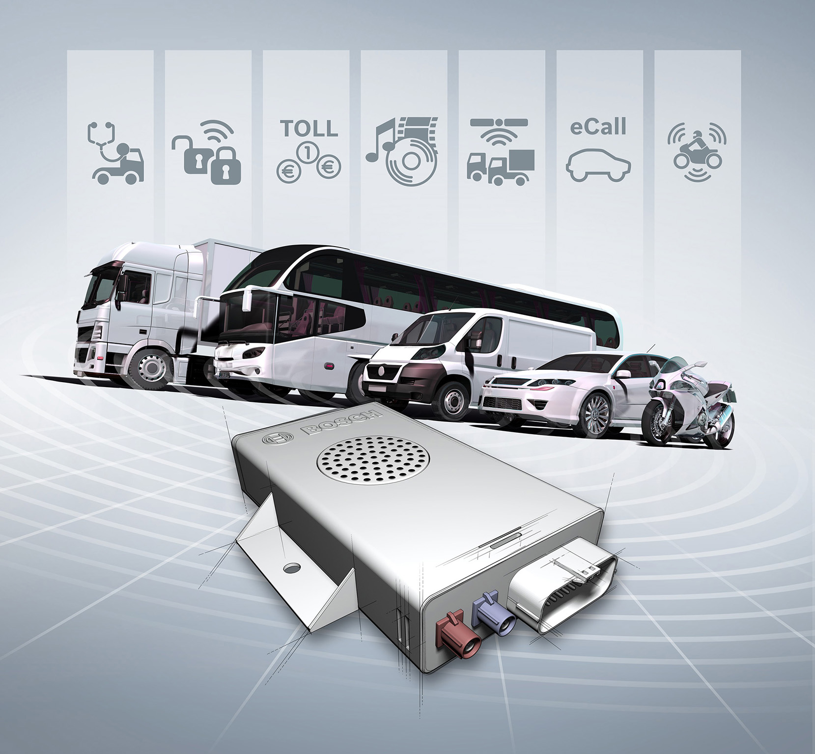 Bosch connectivity control unit