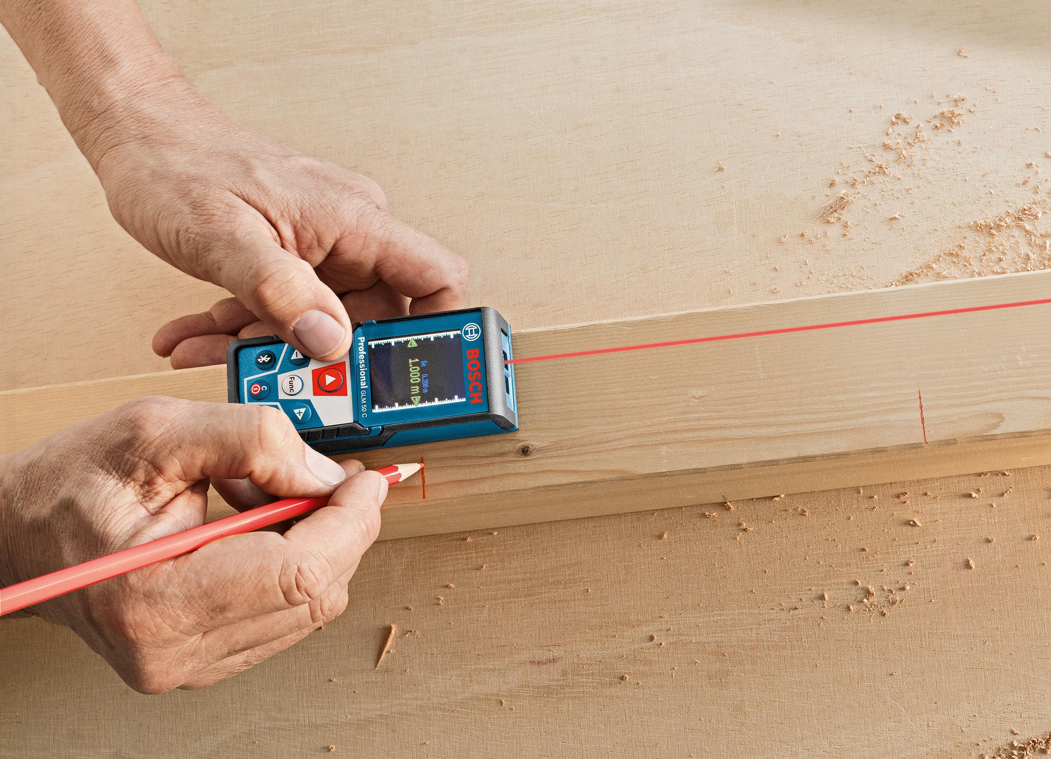 Bosch laser entfernungsmesser glm 50 c professional bosch media