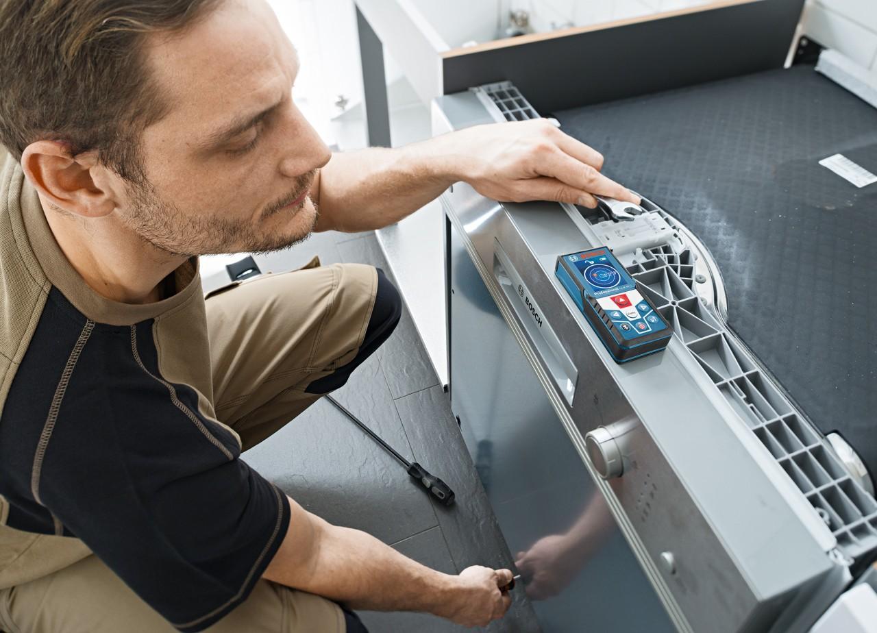 Neue funktionen durch integrierten ° neigungssensor der laser