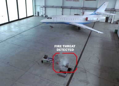 Video-based Fire Detection AVIOTEC detects fire detection within seconds