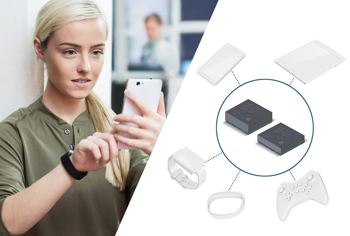 Two new accelerometers from Bosch Sensortec