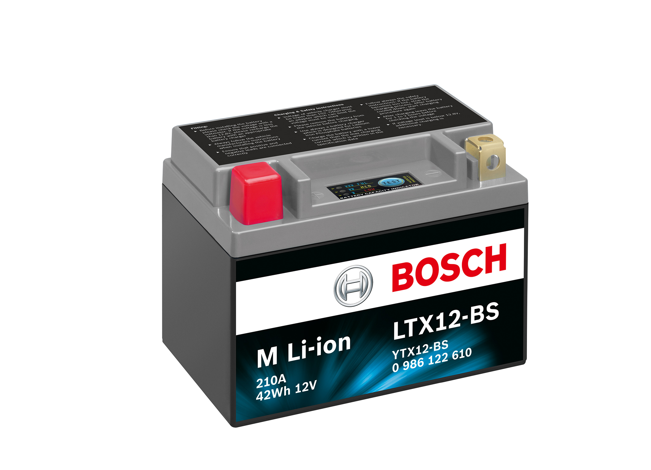 new bosch two wheeler battery with innovative lithium ion technology bosch media service. Black Bedroom Furniture Sets. Home Design Ideas