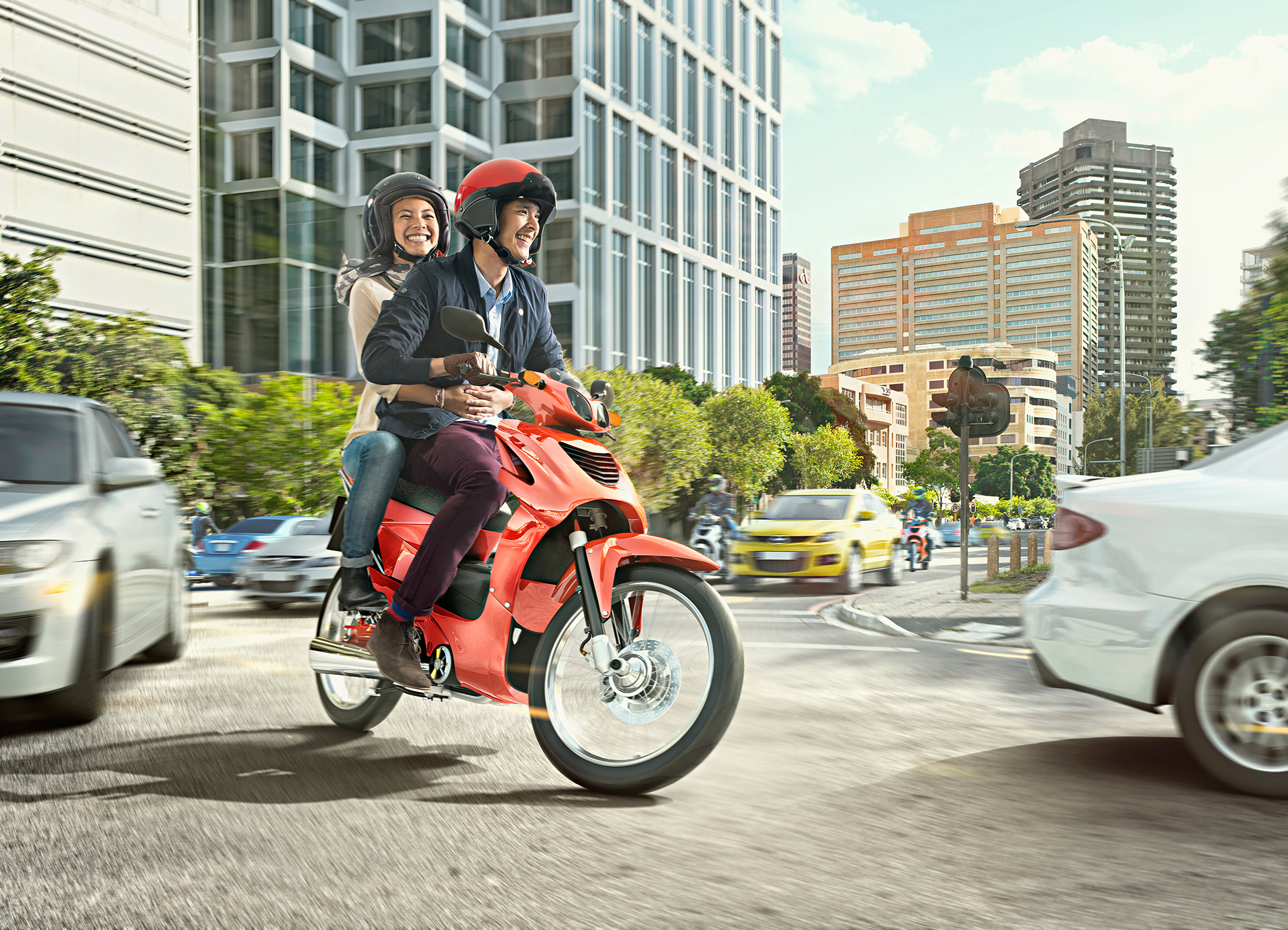 New Bosch operating unit for two-wheelers