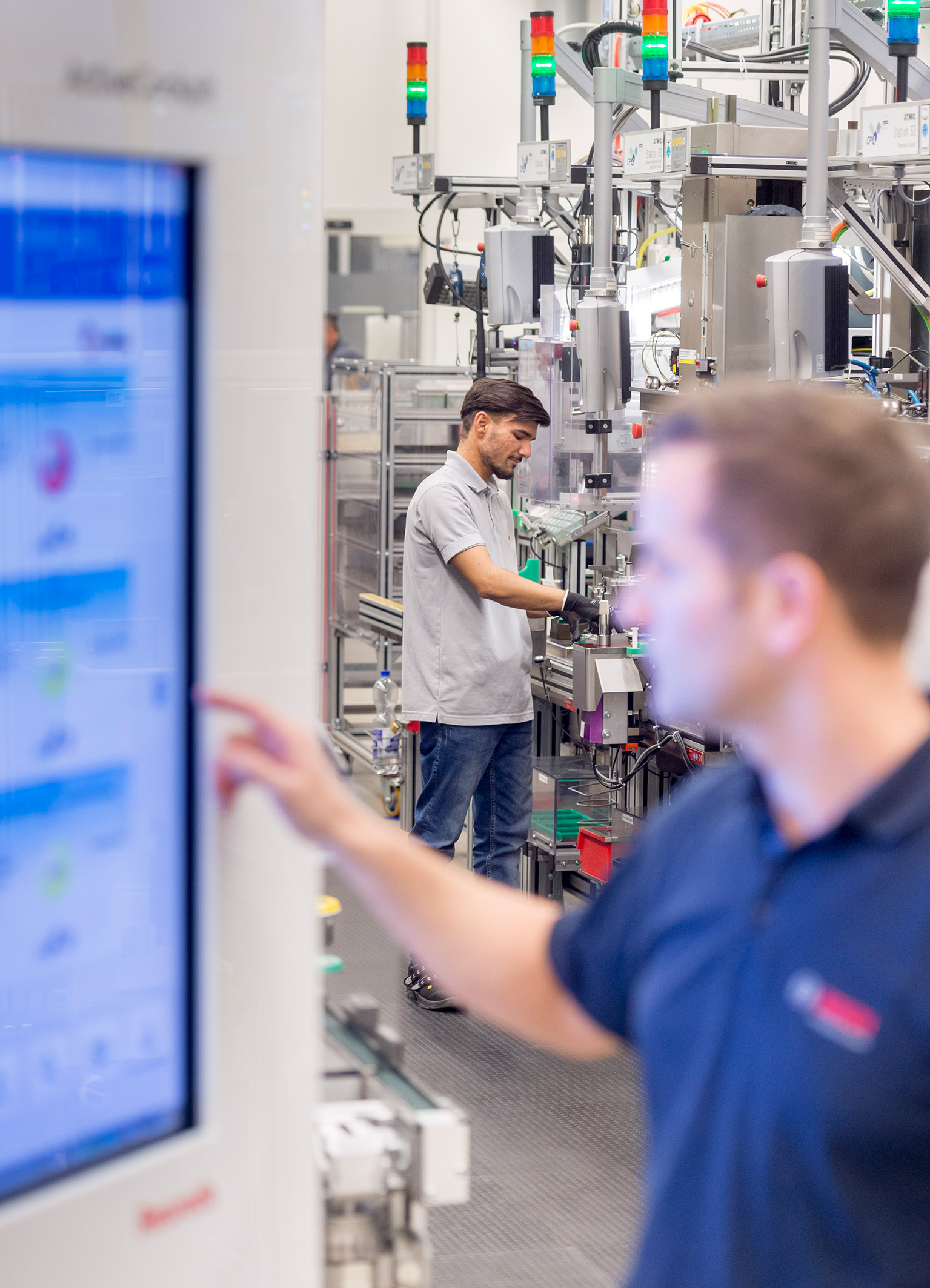 Industry 4.0 at Bosch – Active Cockpit