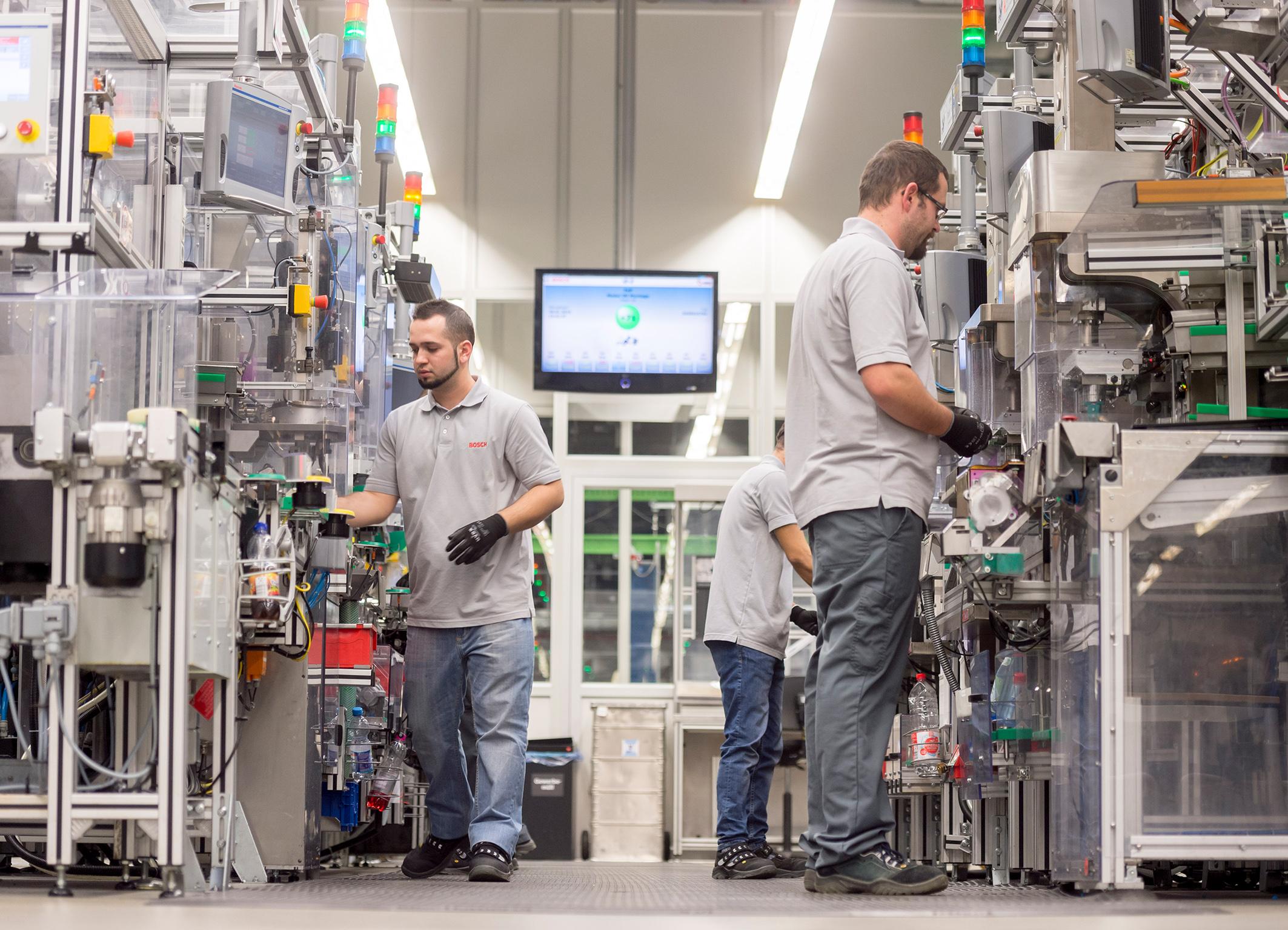 Industrie 4.0 bei Bosch – Die Fertigung ist vernetzt