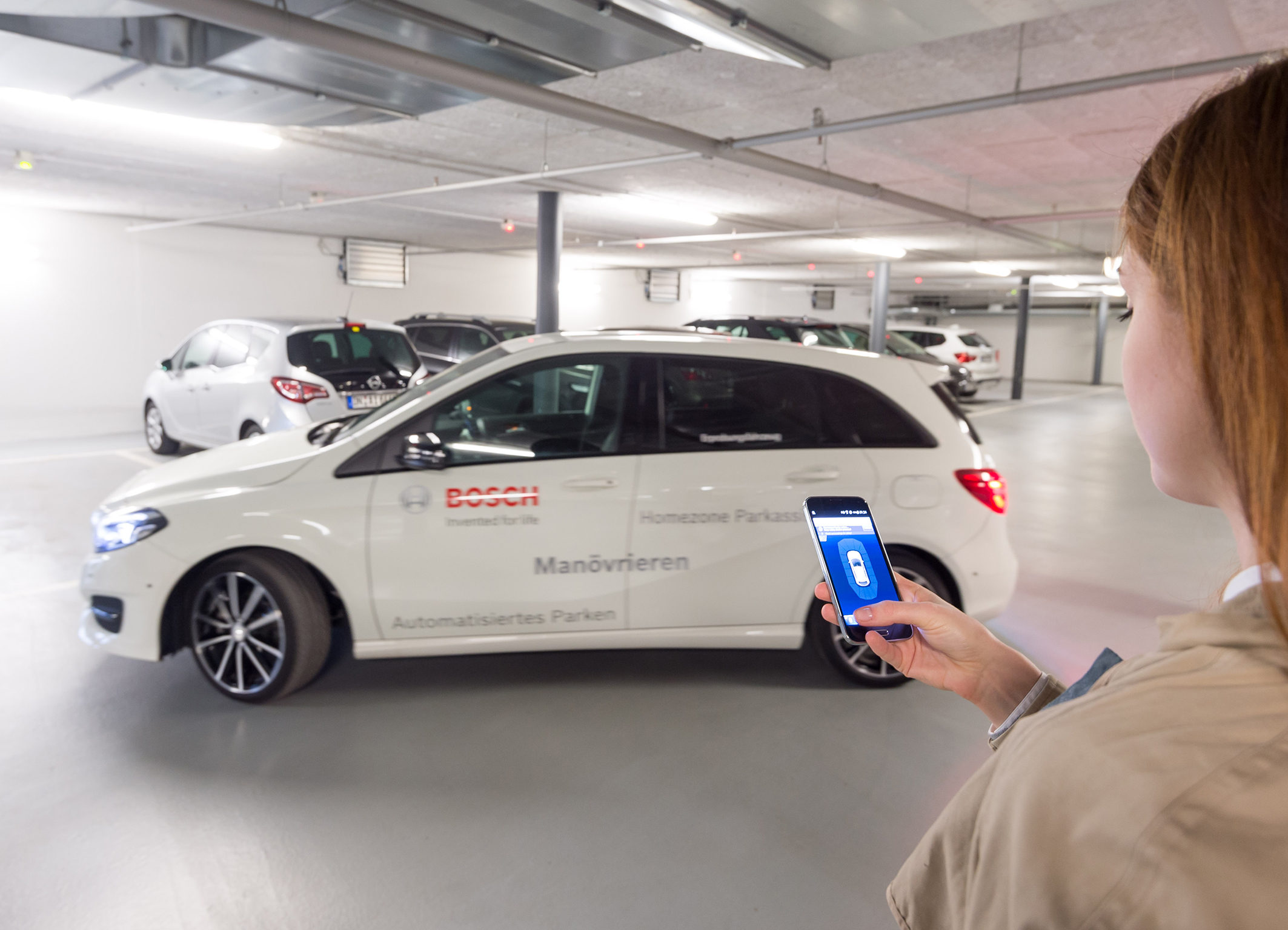Bosch technology makes anyone a professional parker