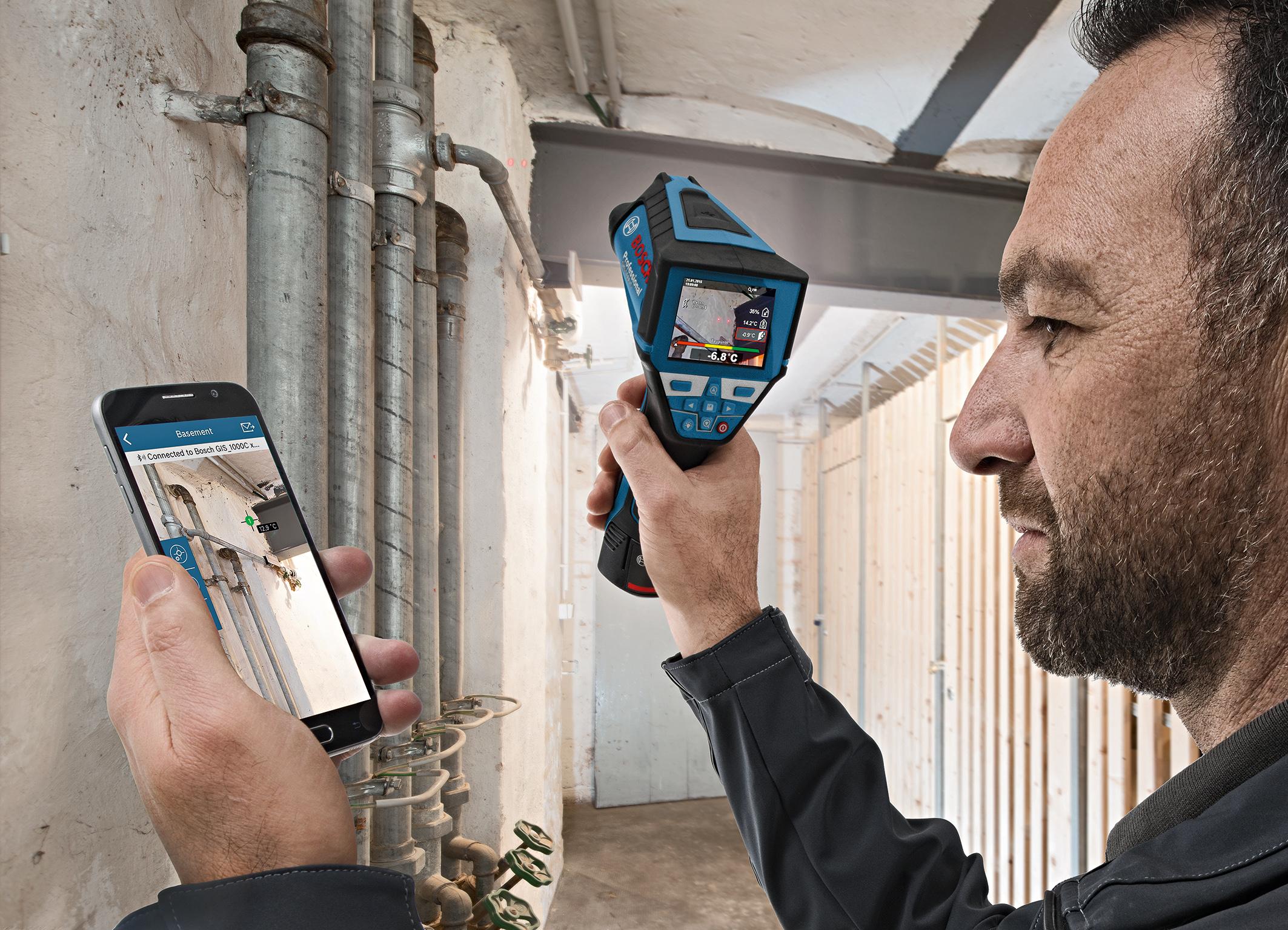 Bosch Entfernungsmesser Glm 50 C Test : Bosch entfernungsmesser glm 50 c app: trena a laser da