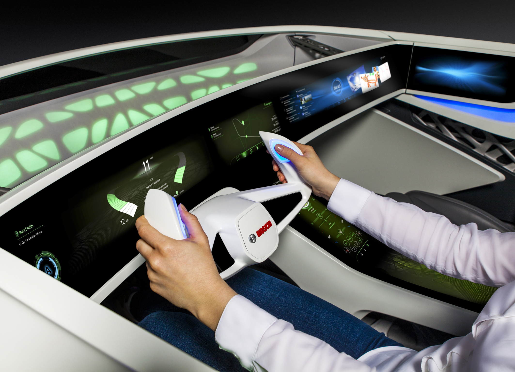 The connected car becomes a personal assistant