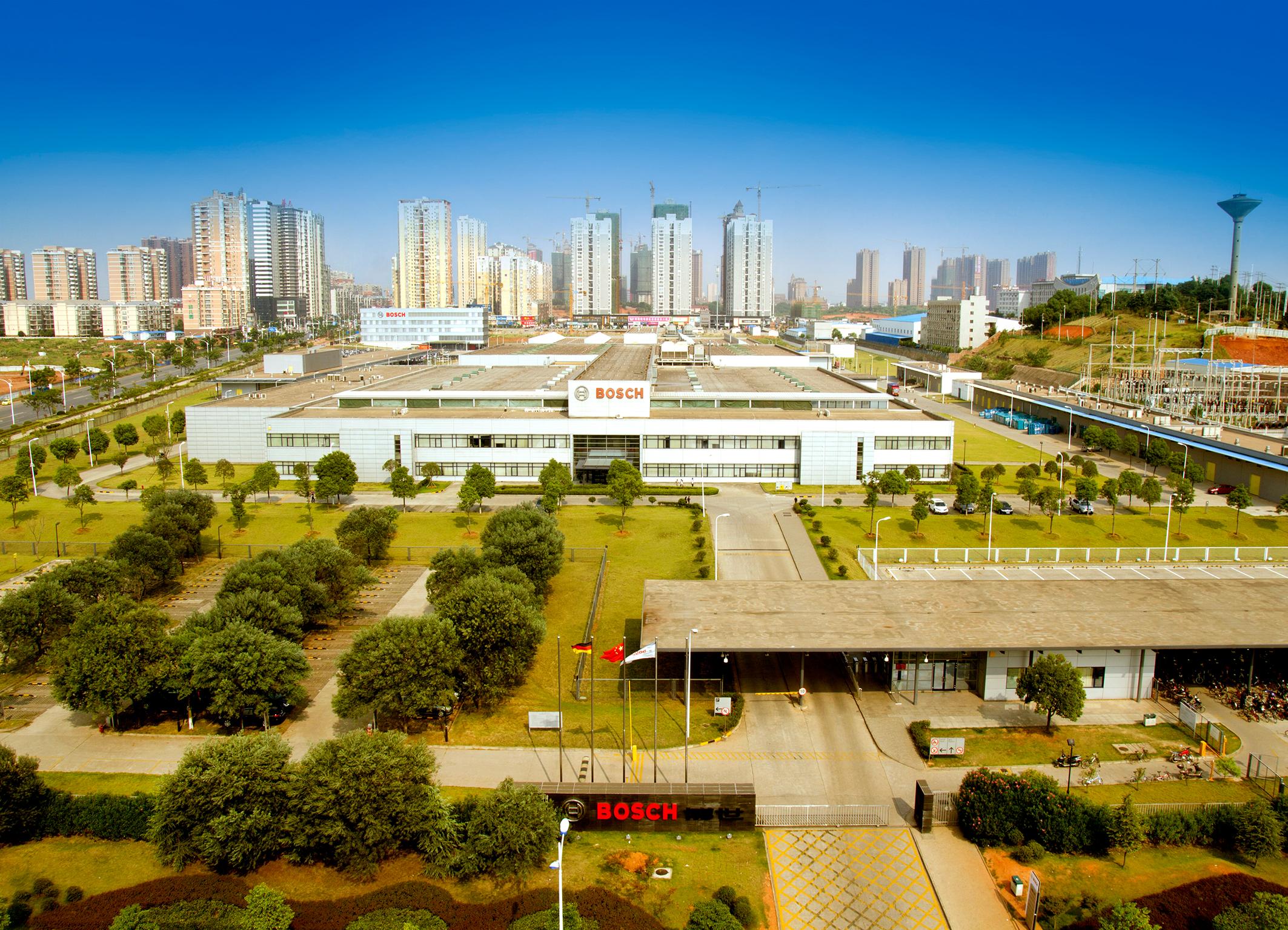 Bosch-Werk in Changsha, China