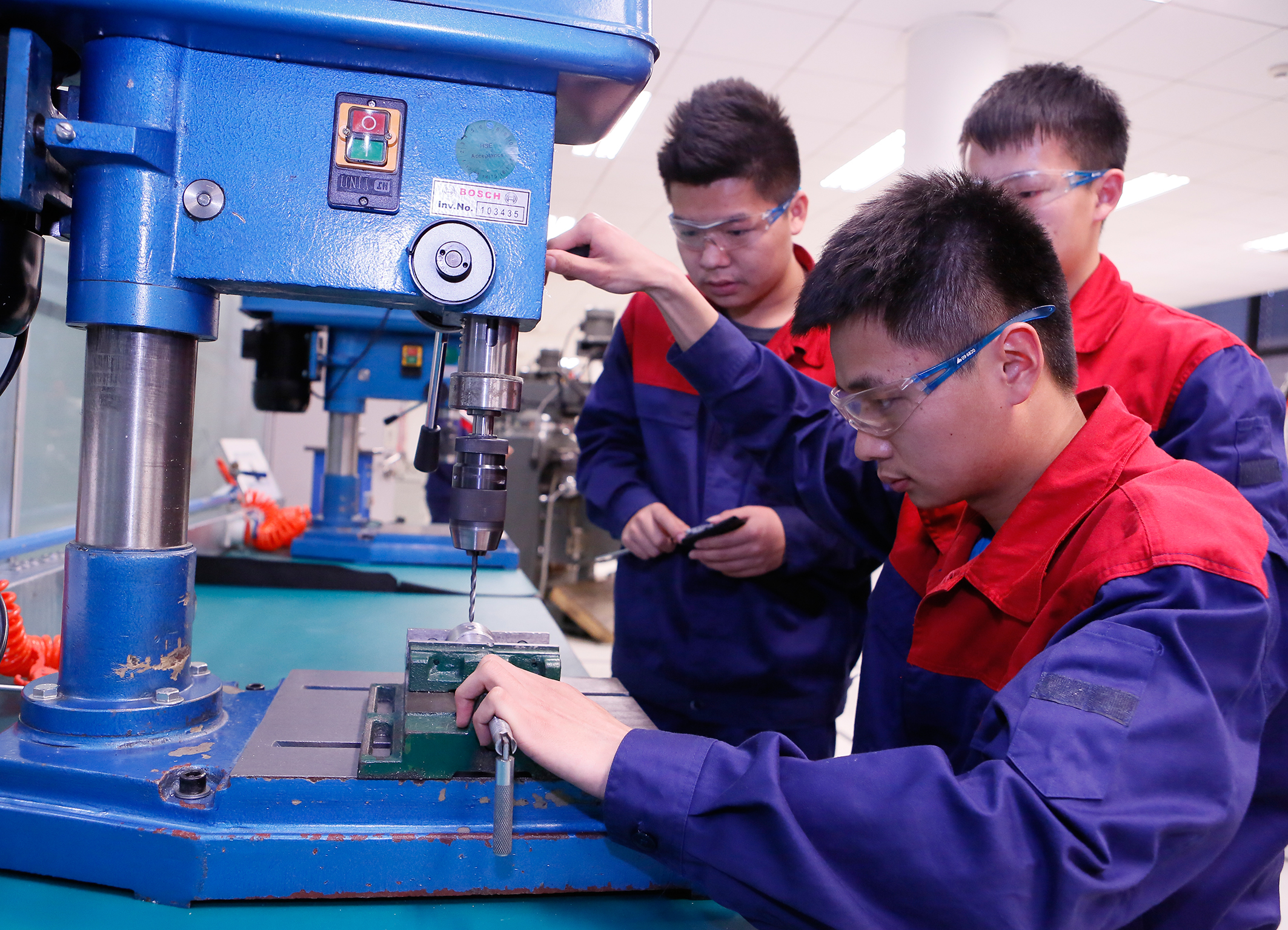 Vocational education at Bosch in China