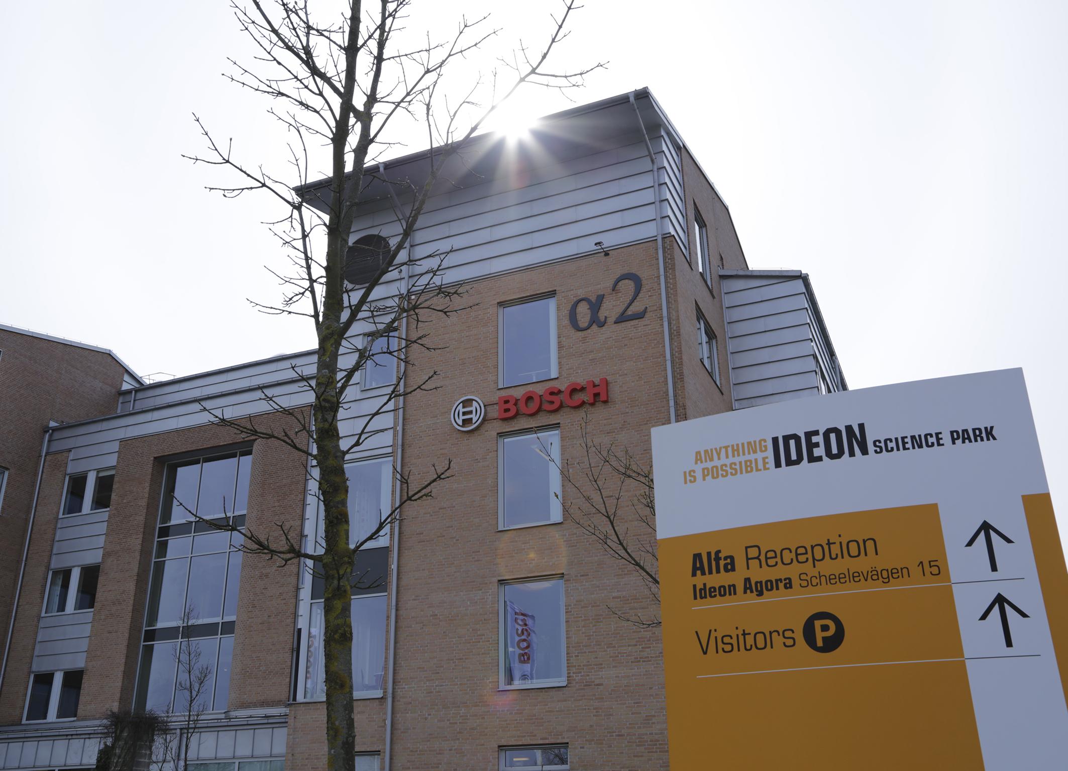 Bosch eröffnet Entwicklungstandort im schwedischen Lund