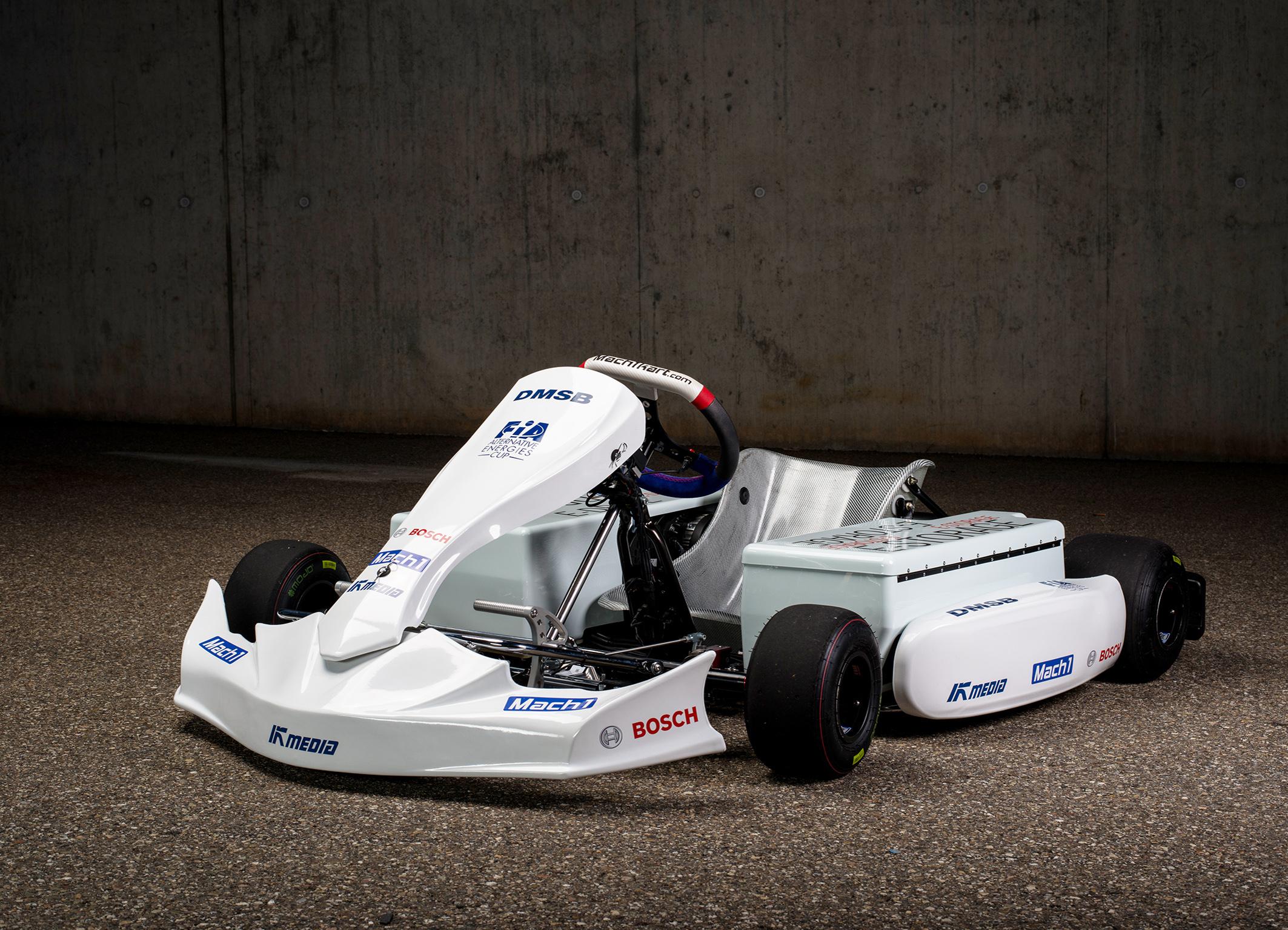 Bosch entwickelt elektrifizierten Antrieb für E-Kart
