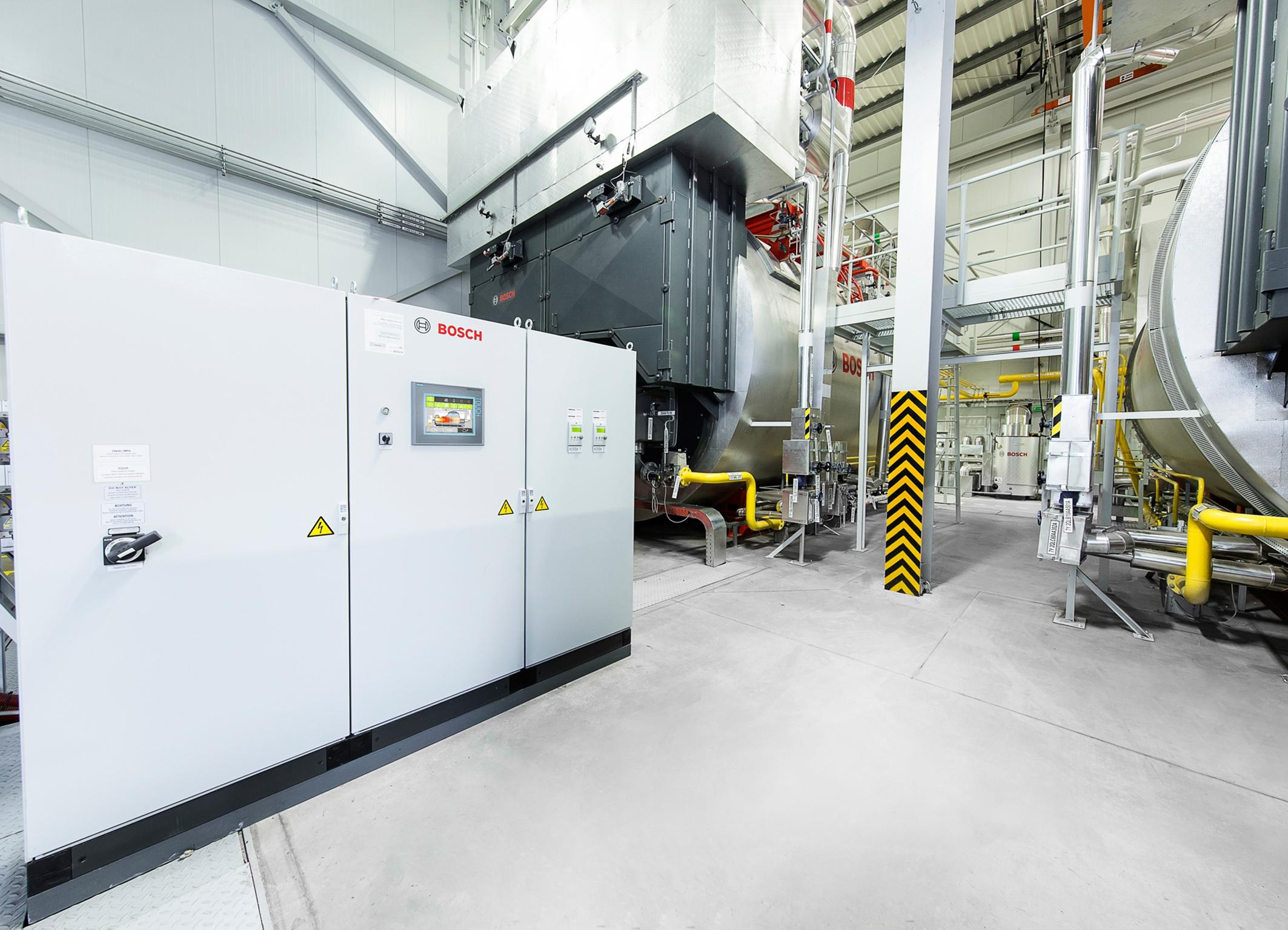 167 Tonnen Heißdampf pro Stunde - Bosch Media Service