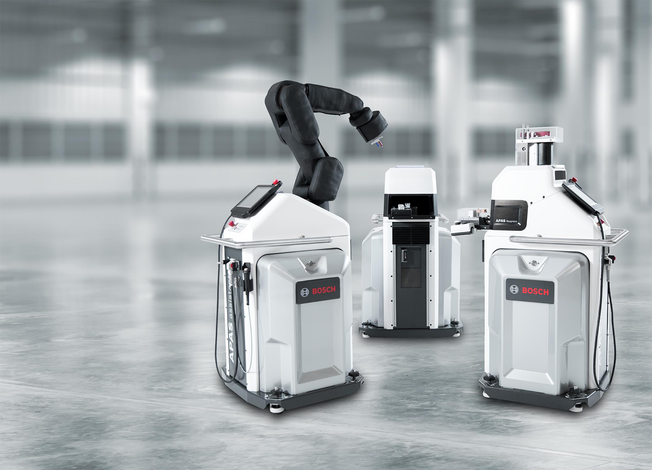 CES 2016 (6-9. januára), Las Vegas Výrobný asistent Bosch APAS je znamenitým baristom Výkonná podpora pre automatizovanú výrobu