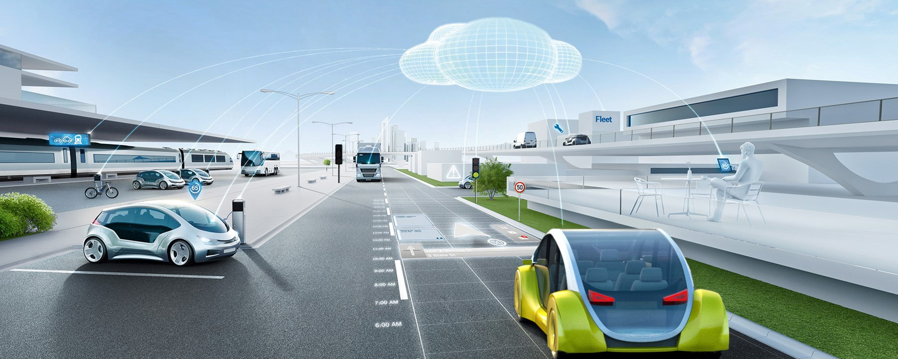 Automobily: pomocníci na kolesách Softvérová platforma Bosch umožňuje využitie celej rady používateľských služieb
