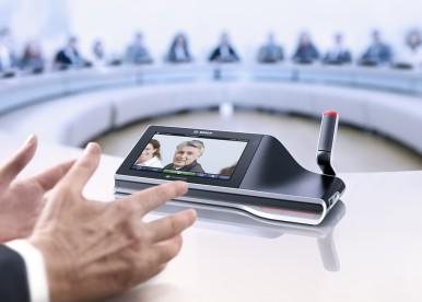 Sistemele de conferință de la Bosch oferă soluții inovatoare pentru întâlniri și conferințe