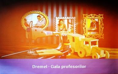 """Prima ediţie a """"Galei Profesorilor"""" a premiat profesorii parteneri ai """"Clubului de Bricolaj Dremel"""""""