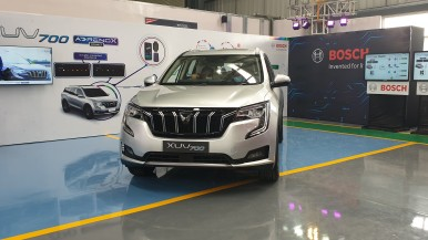 Mahindra XUV700 AdrenoX Connected Capabilities, enabled by Bosch
