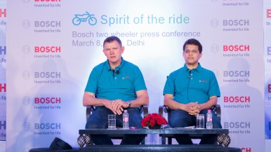 Bosch's Two-Wheeler & Powersports Business Unit with sees growth in India