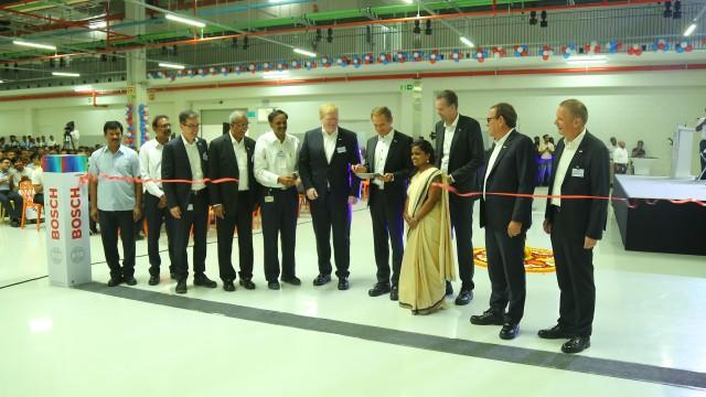 Bosch Limited inaugurates its expanded  Bidadi plant