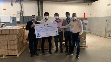 Robert Bosch GmbH strengthens its commitment to fighting the COVID-19 pandemic i ...