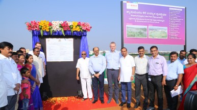 Bosch breathes life into Shyanumangala Lake in Bidadi