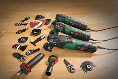 The new multifunctional tools by Bosch