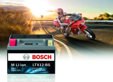 Bosch lanceert een nieuwe reeks accu's met Lithium-Ion-technologie voor tweewielers