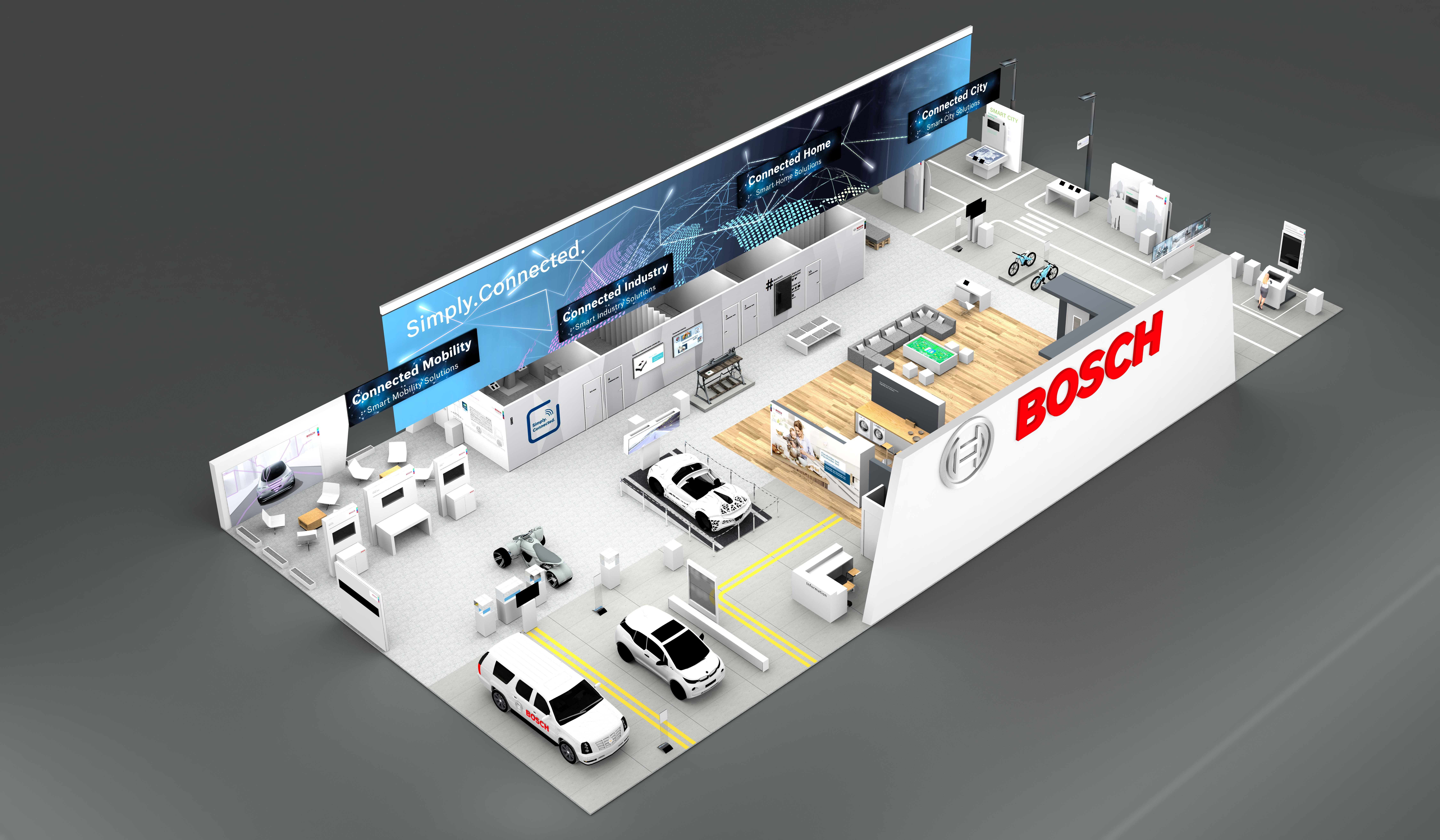 CES 2018: Bosch stelt deze slimme oplossingen voor in Las Vegas