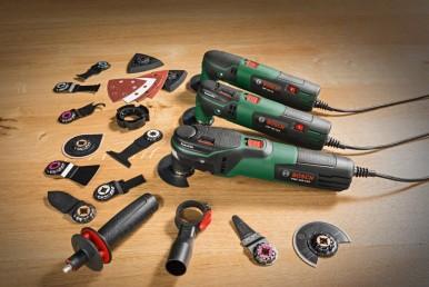 De nieuwe multifunctionele gereedschappen van Bosch