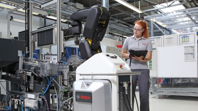Connected learning at its best - occupational training at Bosch